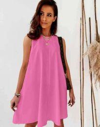 Φόρεμα - κώδ. 9862 - ροζ