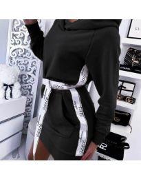 Φόρεμα - κώδ. 4483 - μαύρο