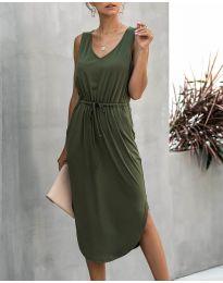 Φόρεμα - κώδ. 681 - χακί