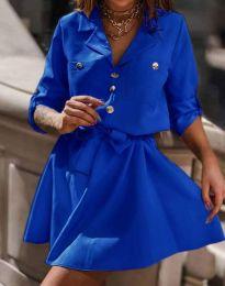 Φόρεμα - κώδ. 4950 - μπλε