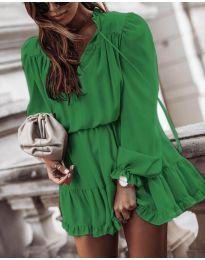 Φόρεμα - κώδ. 3231 - πράσινο