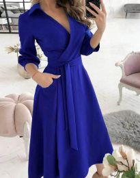 Φόρεμα - κώδ. 2861 - μπλε