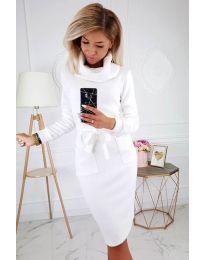 Φόρεμα - κώδ. 219 - λευκό