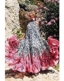 Φόρεμα - κώδ. 703 - πολύχρωμο