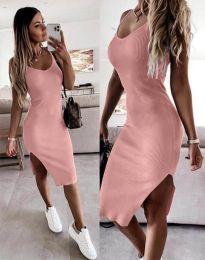 Φόρεμα - κώδ. 2378 - πούδρα