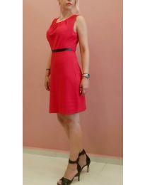 Φόρεμα - κώδ. 9900 - 1 - κόκκινο