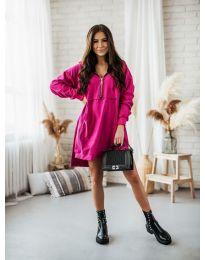Φόρεμα - κώδ. 6113 - φουξια