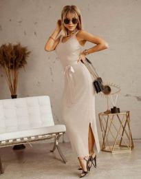 Φόρεμα - κώδ. 6166 -  σαμπανιζέ