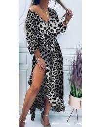 Φόρεμα - κώδ. 5454 - 4 - πολύχρωμο