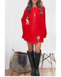 Φόρεμα - κώδ. 8102 - κόκκινο
