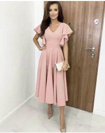 Φόρεμα - κώδ. 3926 - ροζ
