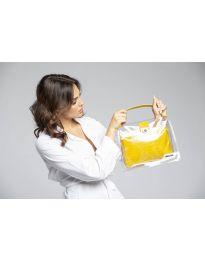 Τσάντα - κώδ. YF - D2025 - κίτρινο