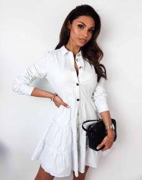 Φόρεμα - κώδ. 3852 - λευκό