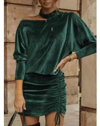 Φόρεμα - κώδ. 8987 - χακί