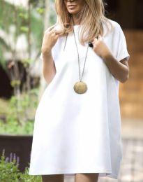 Φόρεμα - κώδ. 6332 - 3 - λευκό