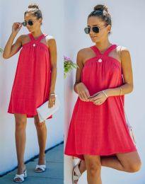 Φόρεμα - κώδ. 9103 - κόκκινο