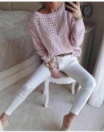 Μπλούζα - κώδ. 6182 - ροζ