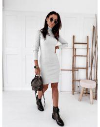 Φόρεμα - κώδ. 5696 - λευκό