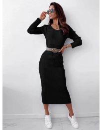 Φόρεμα - κώδ. 5878 - μαύρο