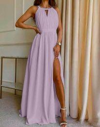 Φόρεμα - κώδ. 6787 - μωβ