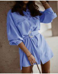 Φόρεμα - κώδ. 6461 γαλάζιο