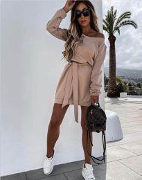 Φόρεμα - κώδ. 2409 - μπεζ