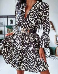 Φόρεμα - κώδ. 4260 - πολύχρωμο