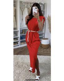 Φόρεμα - κώδ. 7049 - κόκκινο