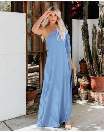 Φόρεμα - κώδ. 6681 - γαλάζιο