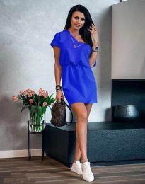 Φόρεμα - κώδ. 3214 - μπλε