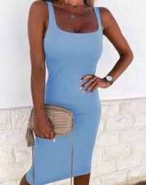 Φόρεμα - κώδ. 8899 - γαλάζιο