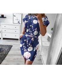 Φόρεμα - κώδ. 1015 - μπλε