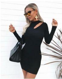 Φόρεμα - κώδ. 11411 - 1 - μαύρο