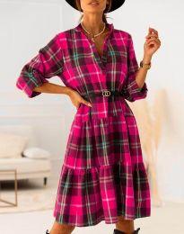 Φόρεμα - κώδ. 6842 - ροζ