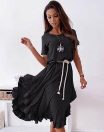 Φόρεμα - κώδ. 11893 - μαύρο