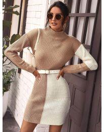 Φόρεμα - κώδ. 9935 - 4 - πολύχρωμο
