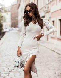 Φόρεμα - κώδ. 6593 - λευκό