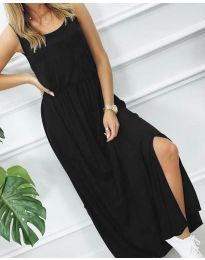 Φόρεμα - κώδ. 7466 - 3 - μαύρο