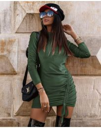 Φόρεμα - κώδ. 9545 - χακί