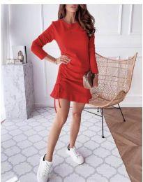 Φόρεμα - κώδ. 832 - κόκκινο