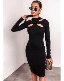Φόρεμα - κώδ. 1625  - 3 - μαύρο