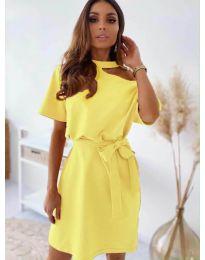 Φόρεμα - κώδ. 0006 - κίτρινο