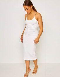 Φόρεμα - κώδ. 2580 - λευκό