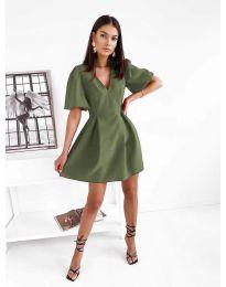 Φόρεμα - κώδ. 0807 - λαδί