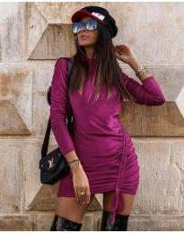 Φόρεμα - κώδ. 9545 - μωβ