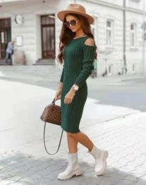 Φόρεμα - κώδ. 8203 - πράσινο