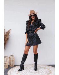 Φόρεμα - κώδ. 3008 - 1 - μαύρο
