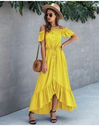 Φόρεμα - κώδ. 564 - κίτρινο
