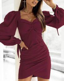 Φόρεμα - κώδ. 0363 - μπορντό