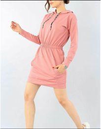 Φόρεμα - κώδ. 7315 - πούδρα